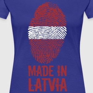 Made in Letland / Made in Letland Latvija - Dame premium T-shirt