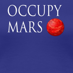 Occupy March Space - Women's Premium T-Shirt