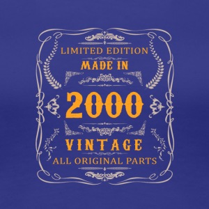 2000 birthday vintage - Women's Premium T-Shirt