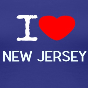 I LOVE NEW JERSEY - Premium T-skjorte for kvinner
