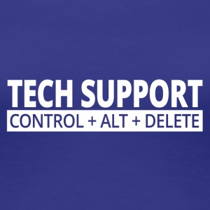 tech support - Frauen Premium T-Shirt