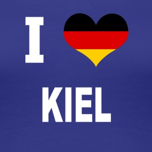 I Love Germany KIEL - Premium T-skjorte for kvinner