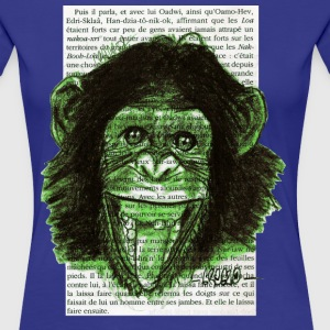 Green Monkey - Premium-T-shirt dam