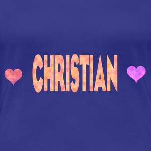 Christian - Frauen Premium T-Shirt