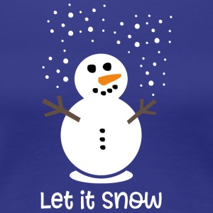 Let it snow - Frauen Premium T-Shirt