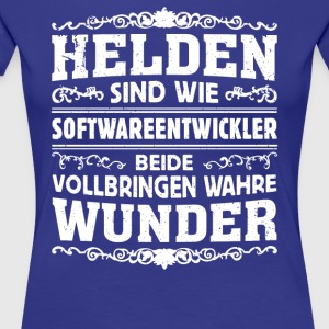 Softwareentwickler - Helden - Frauen Premium T-Shirt
