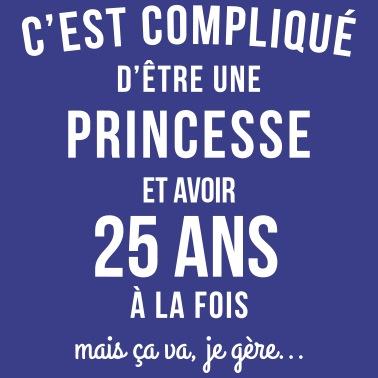 Admirable 25 ans avant jeune belle anniversaire T-shirt premium Femme SZ-14