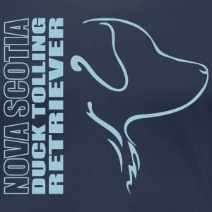 NOVA SCOTIA DUCK TOLLING RETRIEVER PROFIL - Frauen Premium T-Shirt