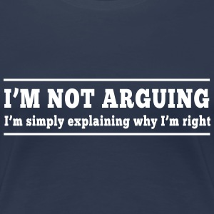 I'm not arguing I'm explaining