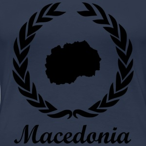 "Connect ExYu T Shirt ""Macedonia"" - Women's Premium T-Shirt"