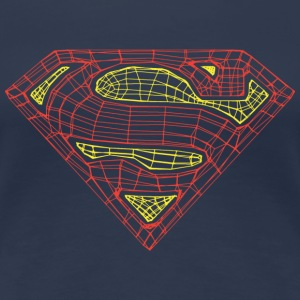 Superman Logo Frauen T-Shirt