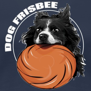 DOG FRISBEE Border Collie - Maglietta Premium da donna