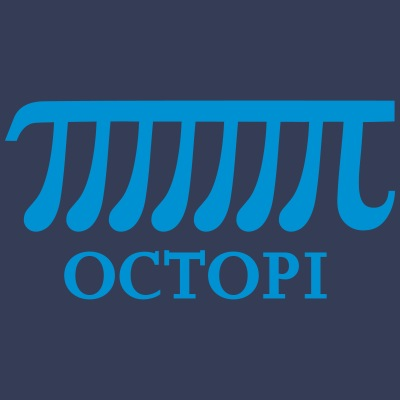 Math Pi Octopi Joke Nerdy Geek Mathematics Science