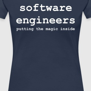 software_engineers - Maglietta Premium da donna