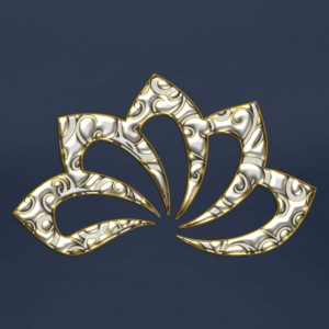 Lotus Flower, digital, gold silver, symbol of perfection and enlightenment, sacred symbol