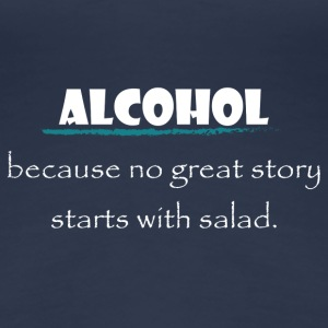 alcohol salad - Frauen Premium T-Shirt