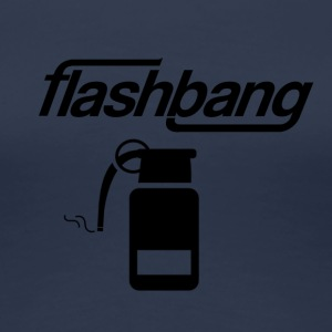 Flash Bang Log - 100kr don - T-shirt Premium Femme