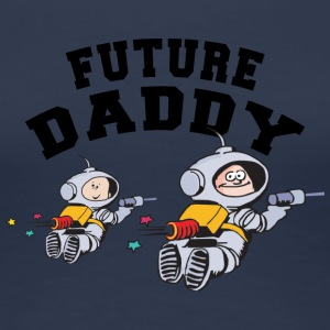 Future Daddy (Personalize with Month Year} - Women's Premium T-Shirt