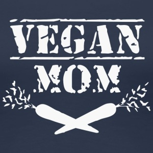 Vegan mom - Women's Premium T-Shirt