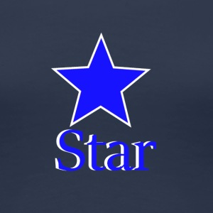 blue Star - Dame premium T-shirt