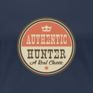 Autentiska Hunter - Hunter - Premium-T-shirt dam