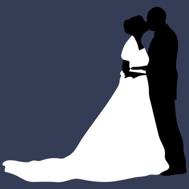 Svart lesbisk bröllop