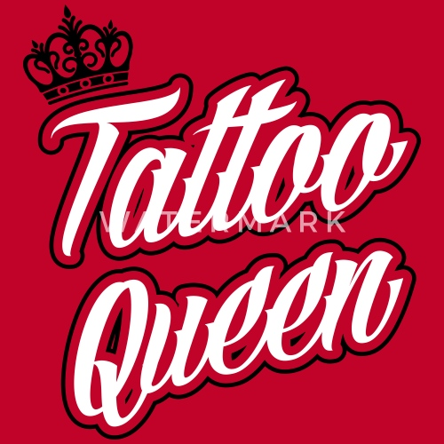 Inked Tattoo Queen T Shirt Premium Femme Spreadshirt