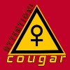 attention cougar - T-shirt Premium Femme