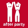 after party naked man and woman with willy and boobs - T-shirt Premium Femme