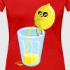 Lemon pees lemonade - Vrouwen Premium T-shirt