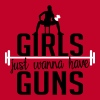 girls just wanna have guns - Koszulka damska Premium