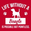 Dog shirt: Life without a Beagle is pointless - Women's Premium T-Shirt