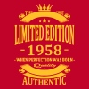 Limited Edition 1958 - Women's Premium T-Shirt
