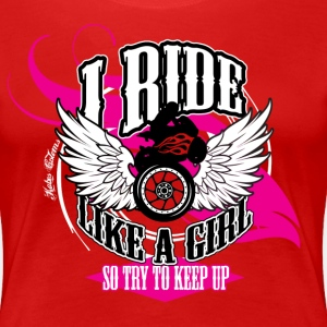 Kabes Ride Like a Girl T-Shirt