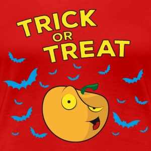Halloween Trick or Treat - Pumpkin - Premium-T-shirt dam