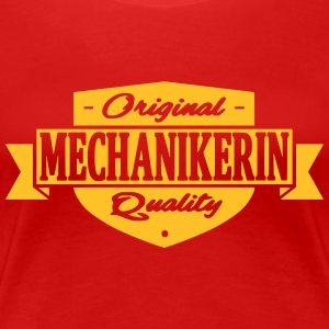 mechanikerin - Frauen Premium T-Shirt