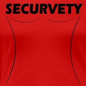 Securvety - Sexy Curvy sikkerhed. - Dame premium T-shirt