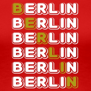 Berlin white - Women's Premium T-Shirt