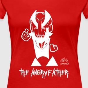 THE ANGRYFATHER - Dame premium T-shirt