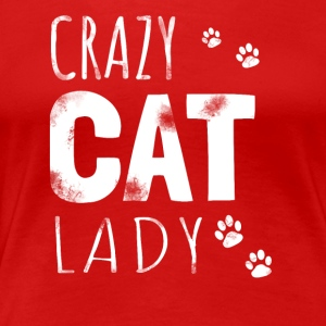 Crazy Cat Lady - Katzen Shirt/Hoodie - Frauen Premium T-Shirt