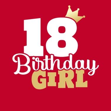 18e Verjaardag Het Is Mijn Verjaardag Met Een Kroon Vrouwen