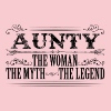 Aunty The Legend... - Women's Premium T-Shirt