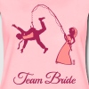 Team Bride Husband Fishing (Hen Party 2C) - Women's Premium T-Shirt