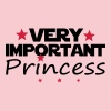 VERY IMPORTANT PRINCESS - T-shirt Premium Femme