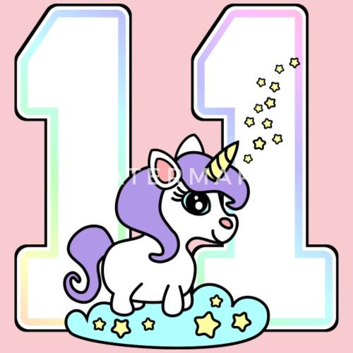 11 11 Geburtstag Einhorn Von Geschenke Sylltra Spreadshirt