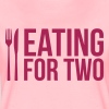 Eating for two - drinking for three - Frauen Premium T-Shirt