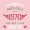 Awesome since 1970 - Women's Premium T-Shirt