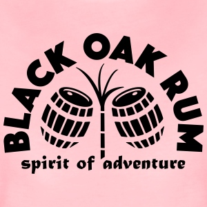 Black Oak Rum - Dame premium T-shirt