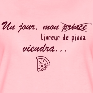 Pizza first - Women's Premium T-Shirt