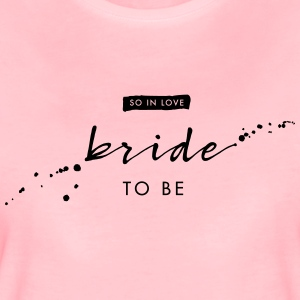Bride to be - Handlettering - Frauen Premium T-Shirt